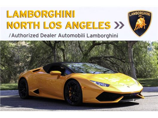2017 Lamborghini Huracan LP610-4 Spyder for sale in Calabasas, California 91302