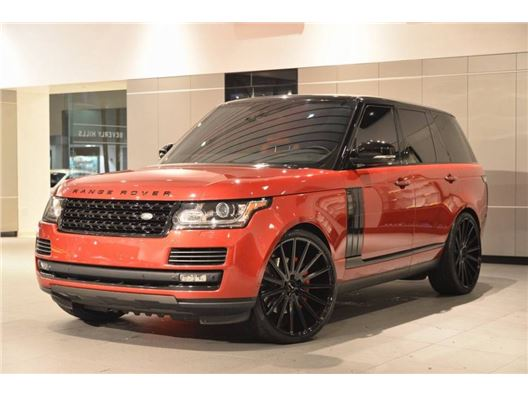 2015 Land Rover Range Rover for sale in Beverly Hills, California 90211