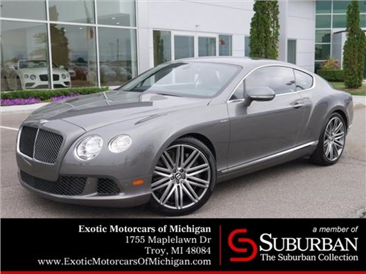 2014 Bentley Continental GT Speed for sale in Troy, Michigan 48084