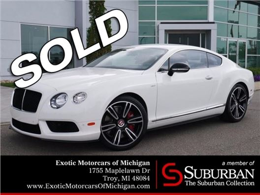 2015 Bentley Continental GT V8 S for sale in Troy, Michigan 48084