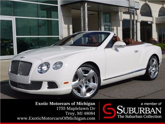 2012 Bentley Continental GTC for sale in Troy, Michigan 48084