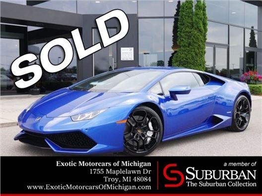 2016 Lamborghini Huracan for sale in Troy, Michigan 48084