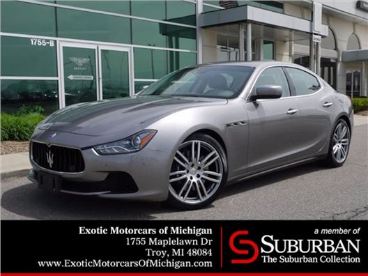 2015 Maserati Ghibli for sale in Troy, Michigan 48084