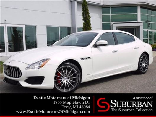 2017 Maserati Quattroporte for sale in Troy, Michigan 48084