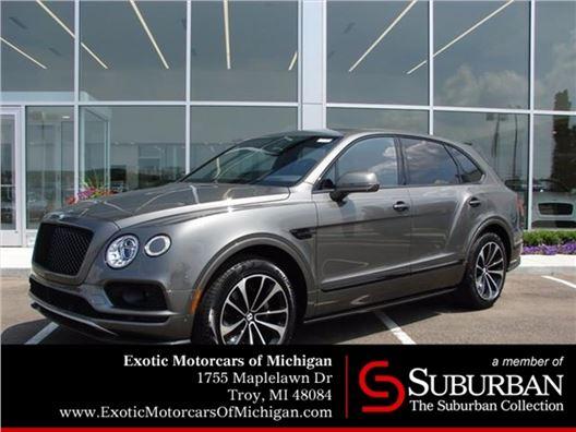 2018 Bentley Bentayga for sale in Troy, Michigan 48084