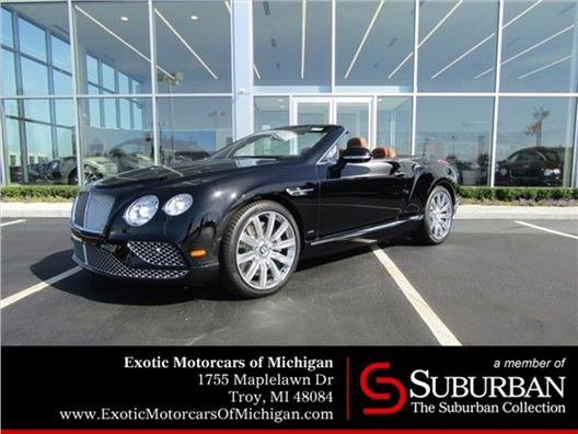 2017 Bentley Continental GT for sale in Troy, Michigan 48084