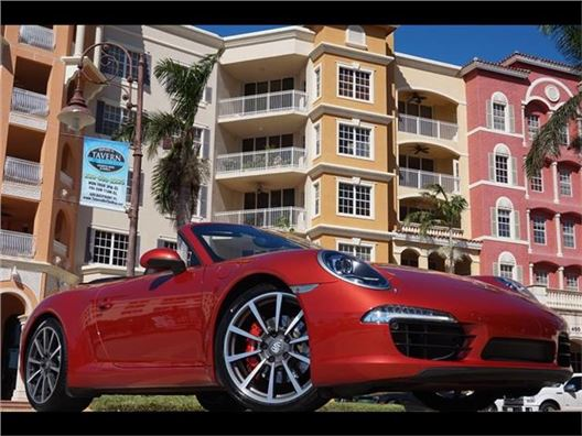 2013 Porsche 911 Carrera S for sale in Naples, Florida 34104