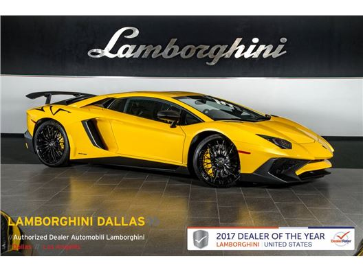2015 Lamborghini Aventador SV for sale in Richardson, Texas 75080