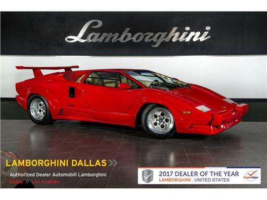 1989 Lamborghini Countach for sale in Richardson, Texas 75080