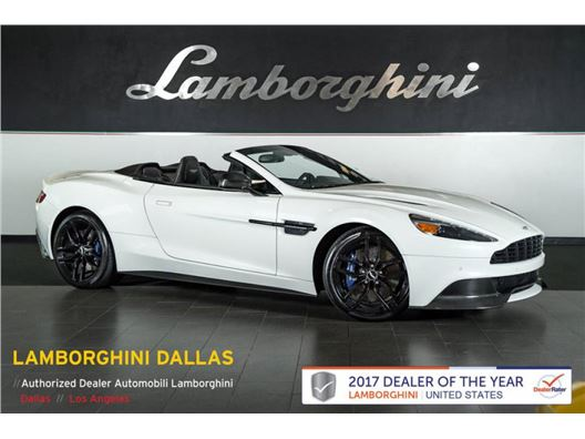 2016 Aston Martin Vanquish Carbon Volante for sale in Richardson, Texas 75080