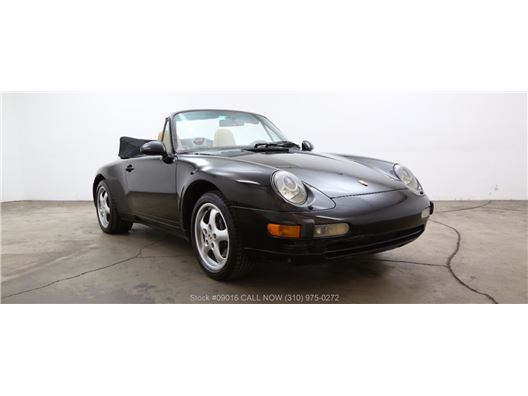 1996 Porsche 993 Cabriolet for sale in Los Angeles, California 90063