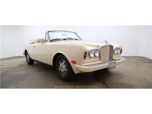 1990 Bentley Continental for sale in Los Angeles, California 90063