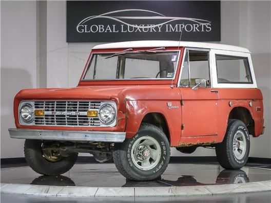 1971 Ford Bronco for sale in Burr Ridge, Illinois 60527
