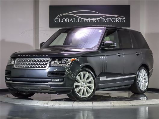 2016 Land Rover Range Rover for sale in Burr Ridge, Illinois 60527