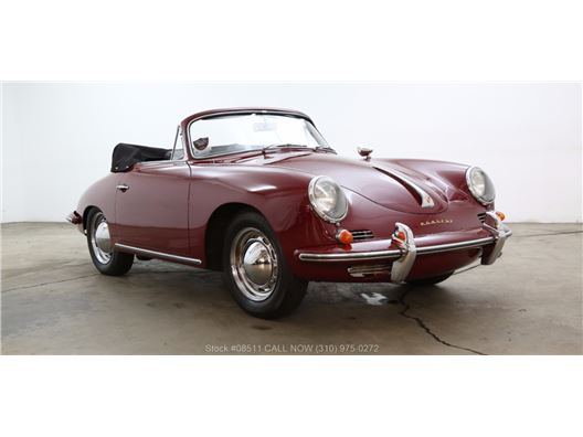 1960 Porsche 356B 1600 Reutter Cabriolet for sale in Los Angeles, California 90063