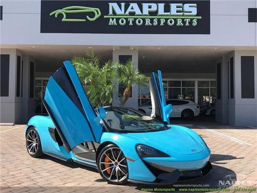 2018 McLaren 570S Spider for sale in Naples, Florida 34104