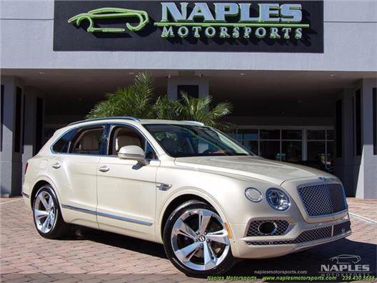 2017 Bentley Bentayga W12 for sale in Naples, Florida 34104