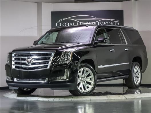 2015 Cadillac Escalade ESV for sale in Burr Ridge, Illinois 60527