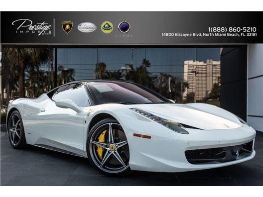 2011 Ferrari 458 Italia for sale in North Miami Beach, Florida 33181