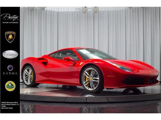 2016 Ferrari 488 GTB for sale in North Miami Beach, Florida 33181
