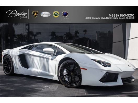 2012 Lamborghini Aventador for sale in North Miami Beach, Florida 33181