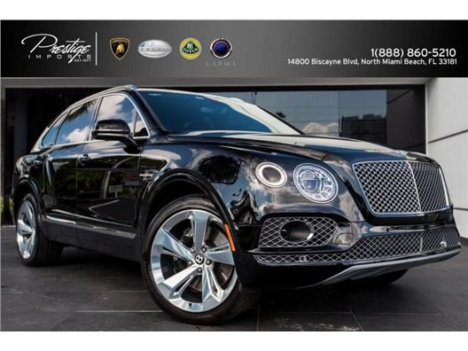 2017 Bentley Bentayga for sale in North Miami Beach, Florida 33181