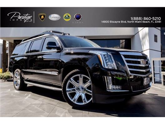 2016 Cadillac Escalade ESV Lexani for sale in North Miami Beach, Florida 33181