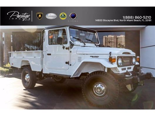 1986 Toyota FJ45 for sale in North Miami Beach, Florida 33181
