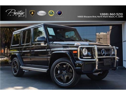 2017 Mercedes-Benz G-Class for sale in North Miami Beach, Florida 33181