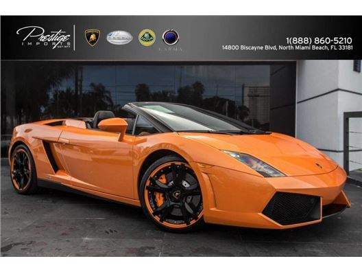 2014 Lamborghini Gallardo Spyder for sale in North Miami Beach, Florida 33181
