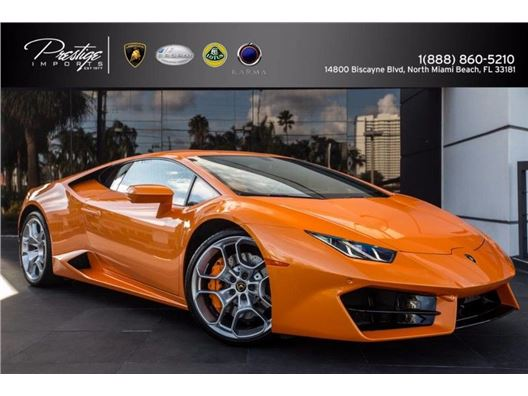 2017 Lamborghini Huracan Lp 580-2 for sale in North Miami Beach, Florida 33181
