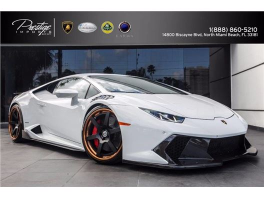 2016 Lamborghini Huracan Vorsteiner for sale in North Miami Beach, Florida 33181