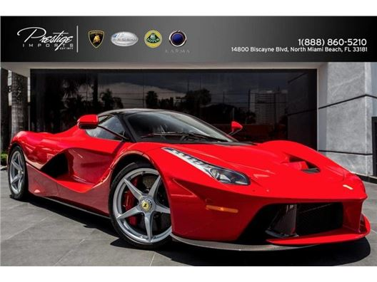 2014 Ferrari LaFerrari Coupe for sale in North Miami Beach, Florida 33181