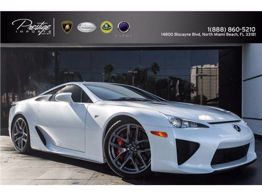 2012 Lexus LFA for sale in North Miami Beach, Florida 33181