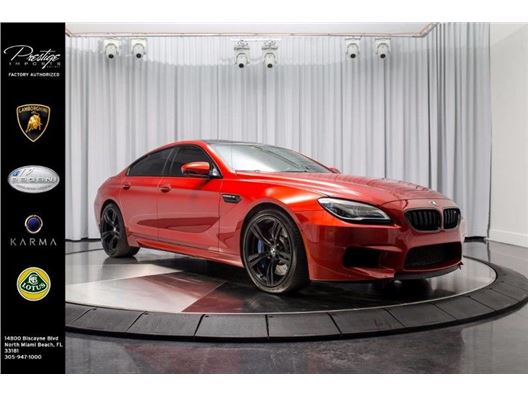 2016 BMW M6 for sale in North Miami Beach, Florida 33181