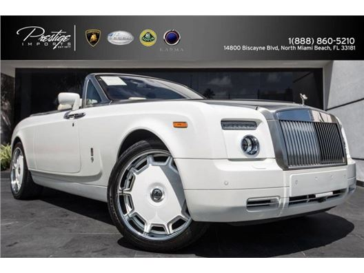 2009 Rolls-Royce Phantom Drophead for sale in North Miami Beach, Florida 33181