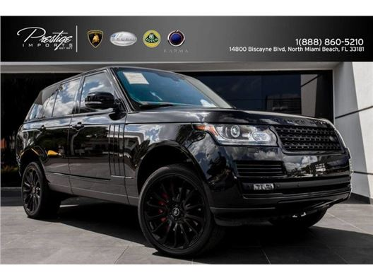 2014 Land Rover Range Rover for sale in North Miami Beach, Florida 33181