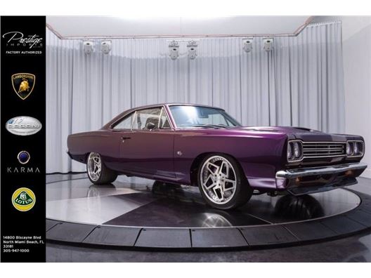 1969 Plymouth Roadrunner Ragingbird 850+ Hp for sale in North Miami Beach, Florida 33181