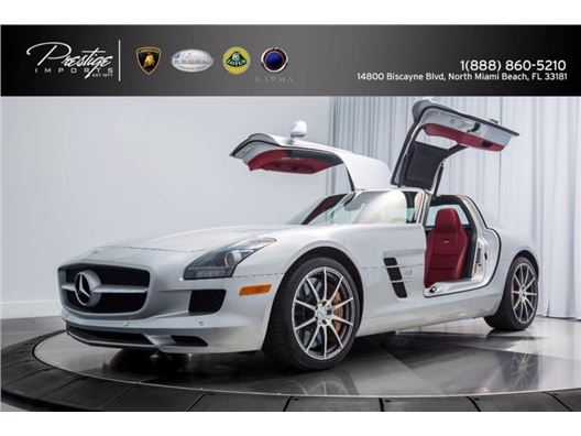 2011 Mercedes-Benz SLS AMG for sale in North Miami Beach, Florida 33181
