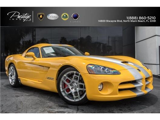 2006 Dodge Viper for sale in North Miami Beach, Florida 33181