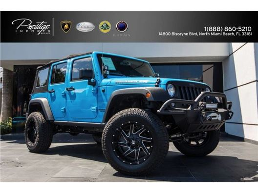 2017 Jeep Wrangler Unlimited for sale in North Miami Beach, Florida 33181