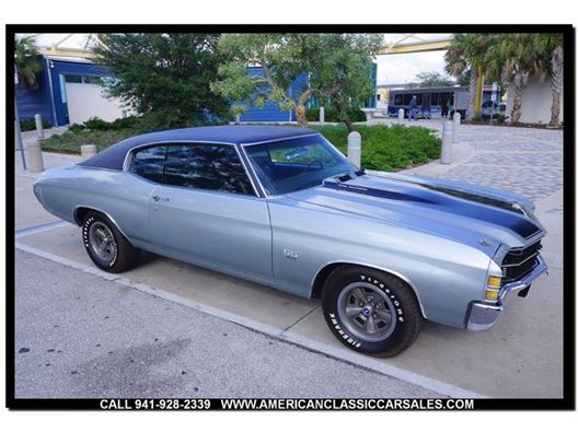 1971 Chevrolet Chevelle for sale in Sarasota, Florida 34232