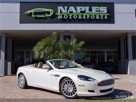 2007 Aston Martin Db9 Volante for sale in Naples, Florida 34104