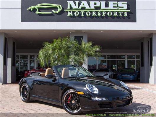2008 Porsche 911 Carrera 4S Cabriolet for sale in Naples, Florida 34104