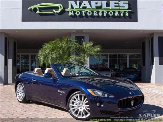 2013 Maserati Gran Turismo Convertible for sale in Naples, Florida 34104