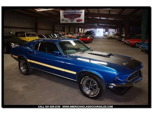 1969 Ford Mustang for sale in Sarasota, Florida 34232