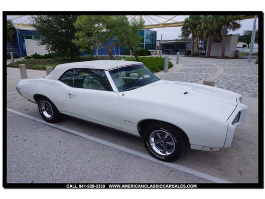 1969 Pontiac GTO for sale in Sarasota, Florida 34232