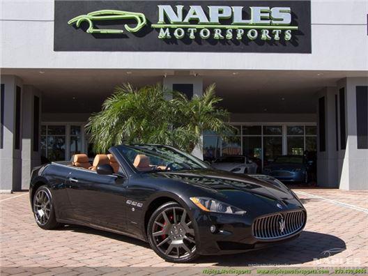 2012 Maserati Gran Turismo Convertible for sale in Naples, Florida 34104