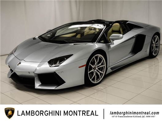 2013 Lamborghini Aventador Roadster for sale in Montreal, Quebec H9H 4M7 Canada