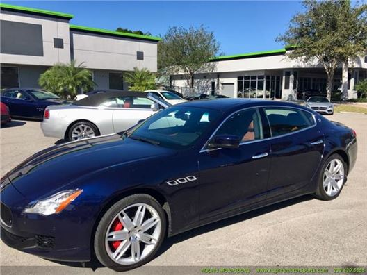 2014 Maserati Quattroporte S Q4 for sale in Naples, Florida 34104